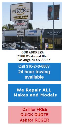 Auto Body Shop Los Angeles Calif West Side Expert
